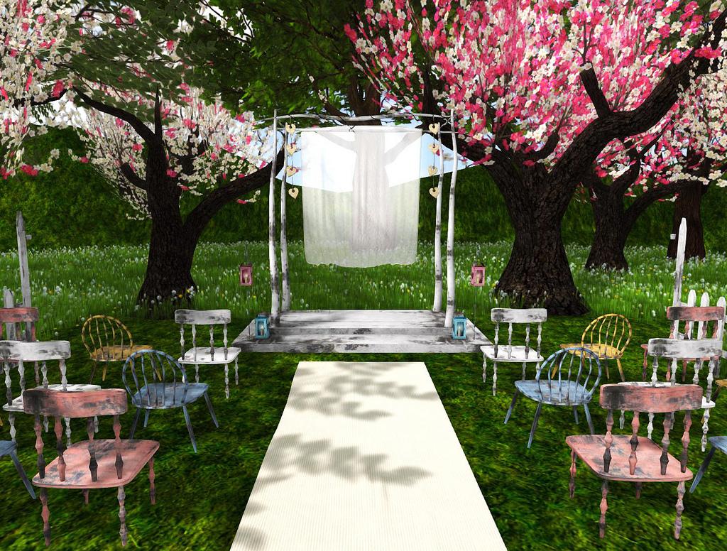 a garden wedding my camilicious style