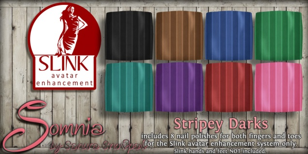 ._ Somnia _. Stripey Darks Ad