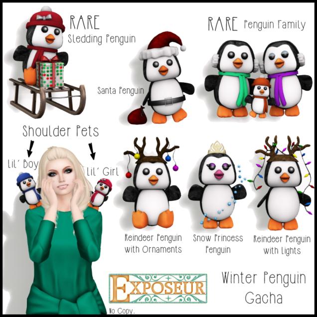 Winter Penguin Gacha